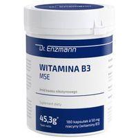 Witamina B3 MSE 180 kaps. 50mg Dr Enzmann