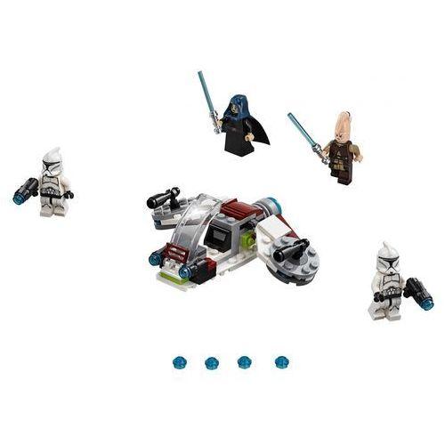 Lego STAR WARS Jedi i żołnierze armii klonów jedi and clone troopers battle pack 75206
