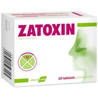 Tabletki ZATOXIN 60 tabletek
