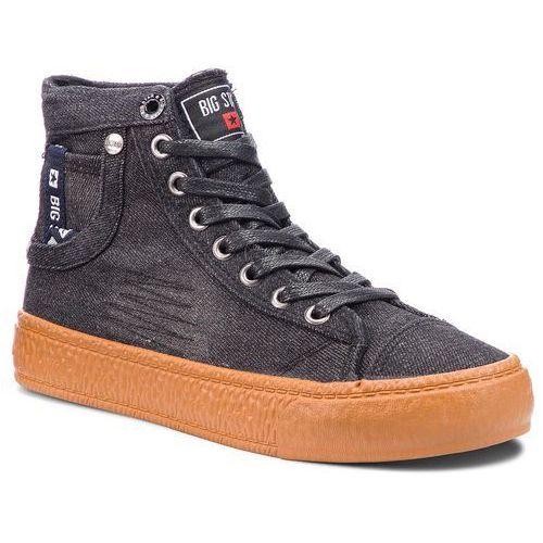 Sneakersy - bb274745 black marki Big star