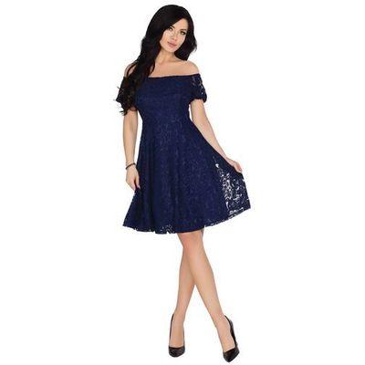 001df763fb suknie sukienki biala wieczorowa sukienka z odkrytymi ramionami z ...