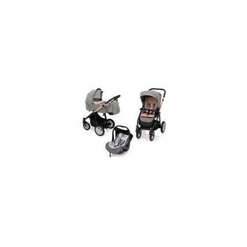 Wózek wielofunkcyjny 3w1 Lupo Comfort + Leo Baby Design (quartz EDYCJA LIMITOWANA), Zestaw 3w1 lupo comfort 01 2017 leo 07 2017