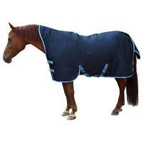 Kerbl Derka dla konia RugBe HighNeck, niebieska, 155 cm, 328667 (4018653935019)