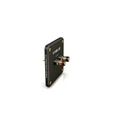 t6s single-terminal s-120 black with binding post - terminal głośnikowy z gniazdami - black \ single-wire marki Viablue
