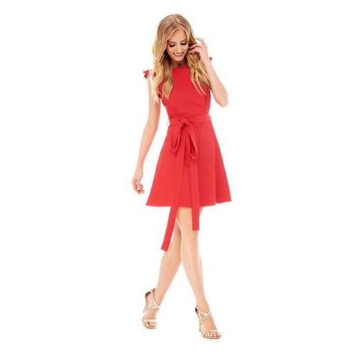 Sukienka visteria w kolorze czerwonym marki Sugarfree