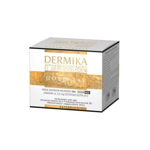 DERMIKA GOLD 24 KREM 55+ DZIEŃ/NOC, 6369022