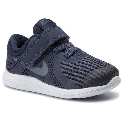 Buty NIKE - Revolution 4 (Tdv) 943304 501 Natural Indigo/Light Carbon