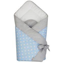 AKUKU A1295 Niebieski Rożek Becik niemowlęcy