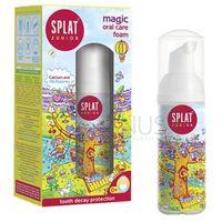 Splat Junior Foam - Magiczna pianka do czyszczenia zębów dla dzieci, 50 ml