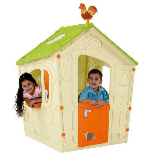domek do zabaw dla dzieci magic play house - beżowy marki Keter