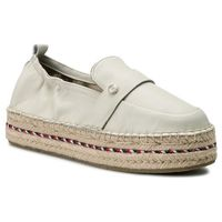 Espadryle TOMMY HILFIGER - Colorful Rope Flat Espadrille FW0FW03794 Whisper White 121