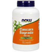 Kapsułki Now Foods Cascara Sagrada 450mg 250 kaps.