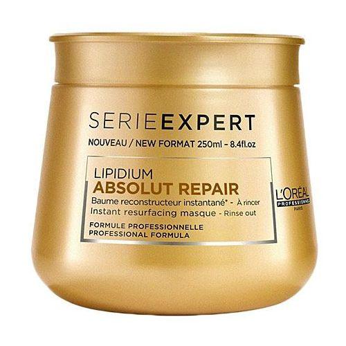 Loreal absolut repair lipidium, maska z lipidami, nawilżająco-regenerująca włosy 250ml
