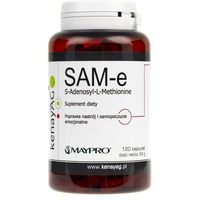 Kapsułki Kenay SAM-e S-Adenosyl-L-Methionine 120kaps - suplement diety