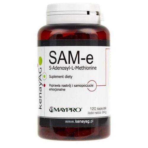 Kenay SAM-e S-Adenosyl-L-Methionine 120kaps - suplement diety (5900672152333)