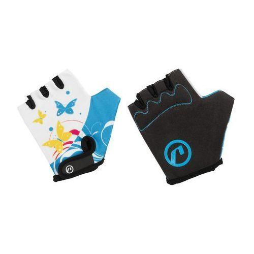 Rękawiczki dziecięce Accent Daisy biało-niebieskie S/M (5902175633524)
