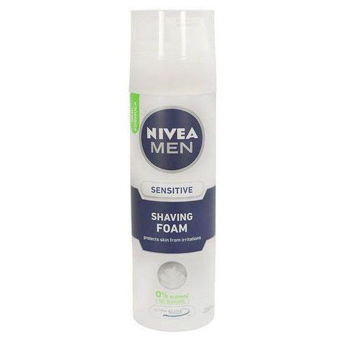 Men sensitive shaving foam 200ml m pianka do golenia Nivea
