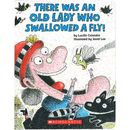 There was an Lady who swallowed a fly Board book  oprawa twarda  There was an Lady who swallowed a