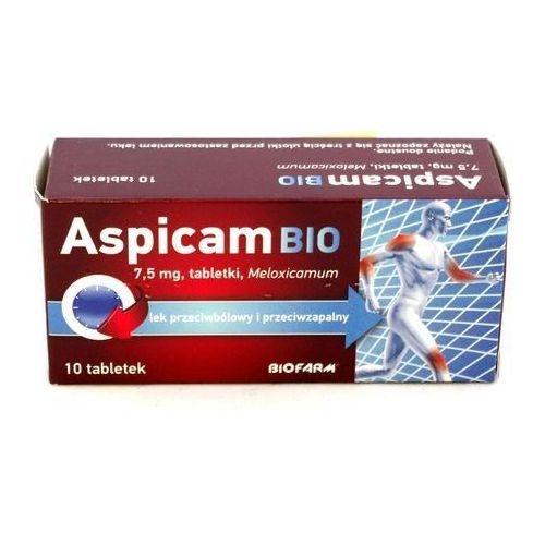 Aspicam bio 7,5mg x 10 tabletek marki Biofarm