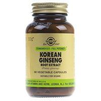 Solgar Żeń-szeń koreański (Korean Ginseng) - 60 kapsułek
