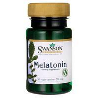 Kapsułki SWANSON Melatonina 500mcg x 60 kapsułek