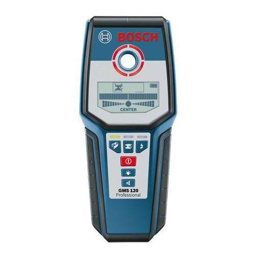 Bosch niebieski Wykrywacz metali i profili bosch gms 120 (3165140560108)