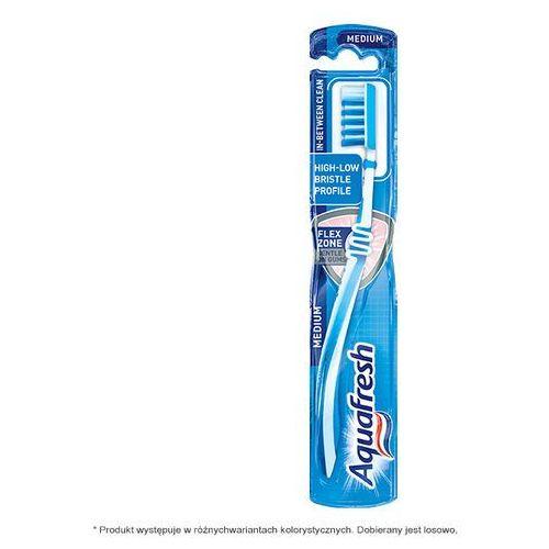 Aquafresh In-Between Clean. Szczoteczka do zębów średnia - GlaxoSmithKline