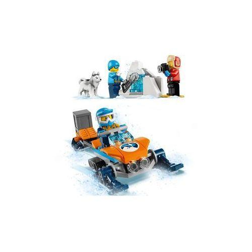 60191 ARKTYCZNY ZESPÓŁ BADAWCZY (Arctic Exploration Team) KLOCKI LEGO CITY