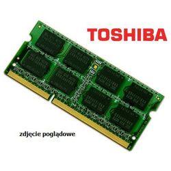Pamięci RAM do laptopów  TOSHIBA