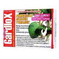 Tabletki GARDLOX x 16 tabletek do ssania smak wiśniowo-cytrynowy