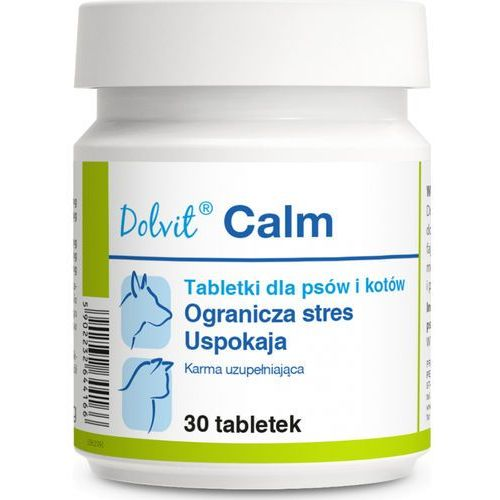 Dolvit Calm dla psa i kota 30 tabletek