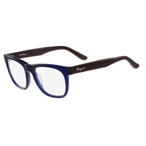 Salvatore ferragamo Okulary korekcyjne sf 2737 424