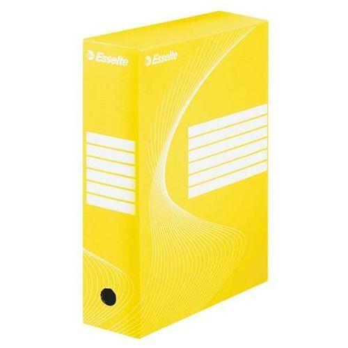 Pudełko archiwizacyjne ESSELTE boxy 100 mm poj. 1000 kartek żółte (5902812336658)