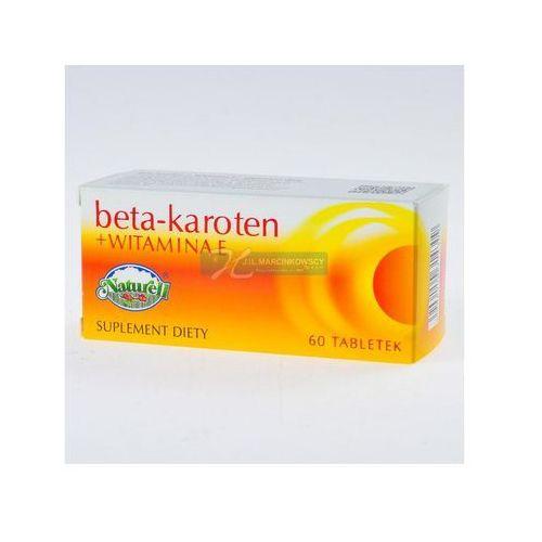 Beta Karoten + wit.E x 60 tabl.NATURELL (5906150314309)