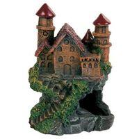 TRIXIE Dekoracja - zamek na skale 14 cm- RÓB ZAKUPY I ZBIERAJ PUNKTY PAYBACK - DARMOWA WYSYŁKA OD 99 ZŁ
