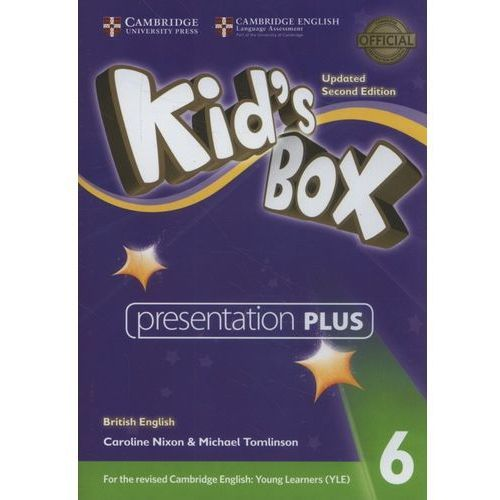 Kid's box level 6 presentation plus dvd-rom british english (płyta dvd) marki Cambridge university press