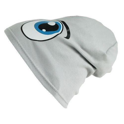 Czapka dziecięca bawełna oczy beanie krasnal ciamajda - cd06-4 marki Tara