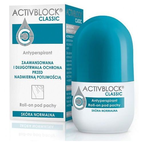 ACTIVBLOCK CLASSIC roll-on 25ml - Najlepsza oferta