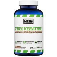 Tabletki Suplement prozdrowotny UNS T-RESVERATROL (TRANS) 90 tabl. Najlepszy produkt