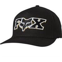 czapka z daszkiem FOX - Ellipsoid Flexfit Hat Black/Yellow (019)