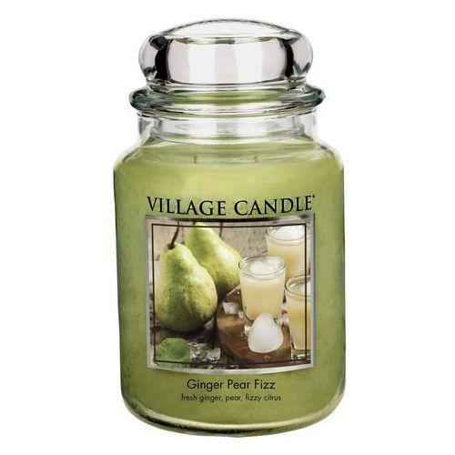 świeczka zapachowa napój szumiący gruszka z imbirem, 645 g, 645 g Village candle