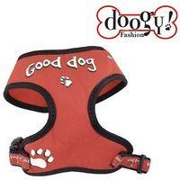 Doogy klasyczne i wygodne szelki dla psa, czerwone, DOG-N5002