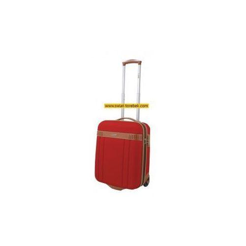 Dielle model 155 walizka mała/ kabinowa 2 koła materiał abs zamek szyfrowy tsa