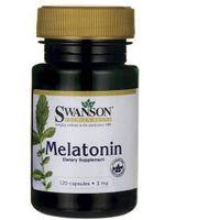 Kapsułki Melatonin - Melatonina 3 mg (120 kaps.) Swanson