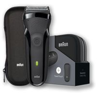 BRAUN maszynka do golenia Series 3 300s black, edycja prezentowa