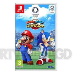 Nintendo Mario and sonic at the olympic games tokyo 2020