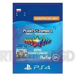 Plants vs. Zombies: Battle for Neighborville 8700 tęczowych gwiazdek [kod aktywacyjny] PS4