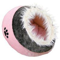 Trixie legowisko budka minou różowo-szare nowość