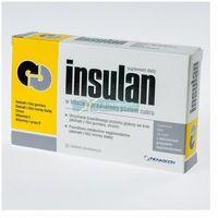 Tabletki INSULAN tabletki na prawidłowy poziom cukru - morwa chrom witaminy E B 30tabl