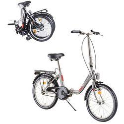 "Dhs Składany rower folder 2092 20"" - model 2019, czarny"